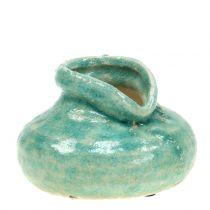 Wazon ceramiczny Antique Blue H9cm