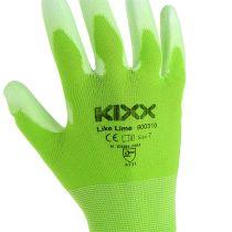 Kixx rękawice ogrodnicze rozmiar 7 jasnozielony, limonkowy