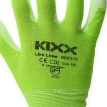 Rękawice ogrodowe Kixx jasnozielone, rozm. 10