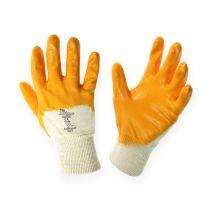 Rękawice robocze Kixx rozmiar 8 żółte