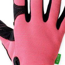 Kixx Rękawiczki Syntetyczne Rozmiar 7 Różowy, Czarny