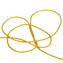 Sznurek żółty 2mm 50m