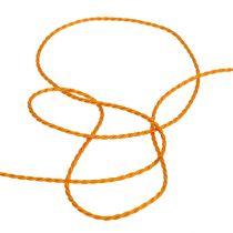 Sznurek pomarańczowy 2mm 50m