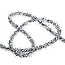 Sznurek srebrny 10mm 10m