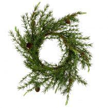 Wieniec, Wieniec Stołowy Modrzewiowy Zielony Ø50cm