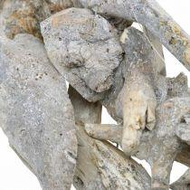 Wieniec Root Wood Grey Natural Deco Root Wieniec Ø40cm H9cm