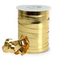 Wstążka do loków błyszcząca 10mm 250m złota