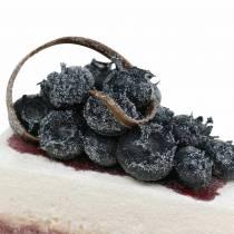Kawałek ciasta borówka sztuczna 10cm