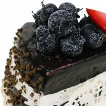 Tort czekoladowy sztuczny 10cm