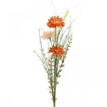 Sztuczne kwiaty łąkowe Pomarańczowe Sztuczne kwiaty na wybieranie Letnia dekoracja
