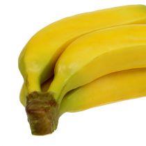 Sztuczny bukiet bananów żółty 23cm