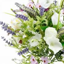 Sztuczny bukiet, Dekoracja stołu, Jedwabne kwiaty, Wiosenny bukiet kolorowy