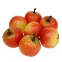 Sztuczne owoce Jabłka Cox 3,5cm 24szt.