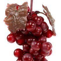 Sztuczne winogrona owocowe czerwone 22cm