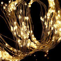 Wiązka świetlna LED do zastosowań wewnętrznych i zewnętrznych 640s 1,9m srebrna/ciepła biel