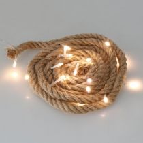 LED Fairy Lights Cord Indoor LED girlanda 190cm 20L ciepły biały
