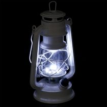 Latarnia LED ściemnialna ciepła biała 24,5 cm z 15 lampami