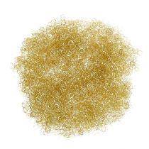 Tinsel metaliczny złoty kręcony 50g
