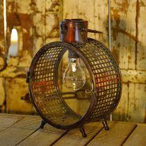 Lampa Solarna Metal Light Balkon Deco Industrial Design Ø23cm