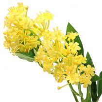 Zawilec Lantana gałązka sztuczna żółta 80cm