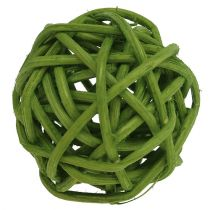 Lataball 3cm Zielony bielony 72szt.