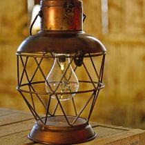 Solar Lantern, LED Lampa wisząca Industrial Look Ø16cm H32cm