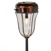 Latarnia solarna do podłączenia do prądu, lampa stołowa LED Ø13,5cm L58cm H21cm