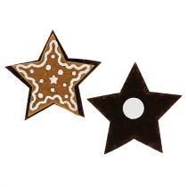 Piernikowe gwiazdki 4,5cm do sklejania 12szt.