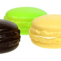 Dekoracyjne ciasteczka bezowe Macaron kolorowe assorted. 5cm 8szt.