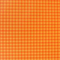 Papier mankietowy 25cm 100m Pomarańczowa kratka