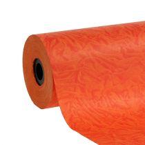 Papier mankietowy pomarańczowo-czerwony 25cm 100m