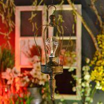 Latarnia LED, Deco Lampa Antyczny wygląd Ø16cm H43cm