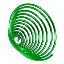 Ślimak metalowy drut ślimak jabłko zielony 2mm 120cm 2szt