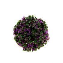 Mini piłka fioletowa z kwiatami Ø12cm 1szt