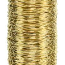 Drut Mirtowy Złoty 0,30mm 100g
