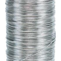 Drut mirtowy srebrny ocynkowany 0,37mm 100g