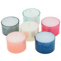 Colorlights tea lights pastelowe assorted 40szt.