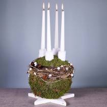 Kula z pianki kwiatowej Maxi piłka w kwiaty Ø30cm