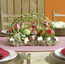 Dekoracja stołu cegła piankowa 29cm x 12cm x 8,5cm 4szt.