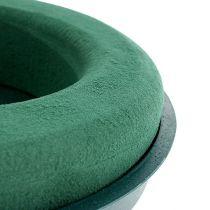 Masa korkująca pierścieniowa pianka korkująca z miską zielona Ø30cm H4,5cm 2St