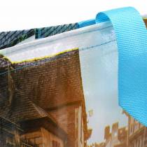 Torba na zakupy z uchwytami Brittany plastikowa 45×14×30cm shopper