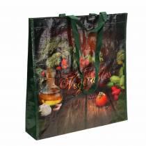 Torba na zakupy z uchwytami Warzywa Plastikowa 38×10×39cm