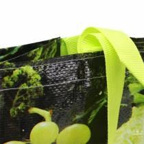 Torba na zakupy z uchwytami Vitale plastikowa 38×20×39cm