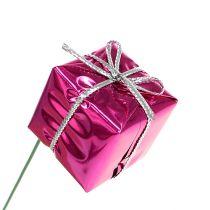 Saszetki 2,5cm na druciku Różowe 60szt