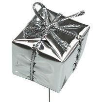 Pakiety na drucie srebrnym 2,5cm 60szt