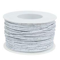 Drut papierowy biały 2mm 100m