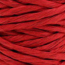 Sznurek papierowy 6mm 23m Czerwony