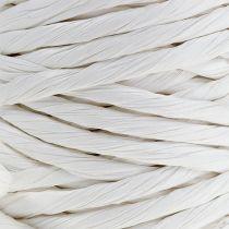 Sznurek papierowy 6mm 23m Biały