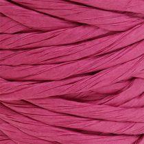 Sznurek papierowy 6mm 23m różowy