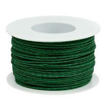 Sznurek papierowy owijany Ø2mm 100m zielony